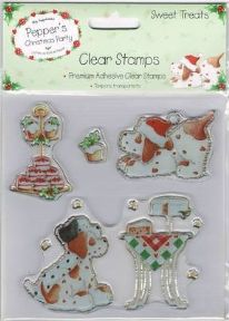 Pepper's Sweet Treats Clear Stamps